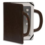 Deluxe iPad Folio - Brown