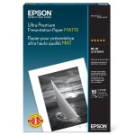 Ultra Premium Presentation Paper Matte - Matte - 10.3 mil - Super B (13 in x 19 in) - 192 g/m² - 50 sheet(s) paper - for Stylus Pro 11880, Pro 38XX, Pro 48XX, Pro 78XX; Stylus Photo R2880; WorkForce 1100