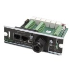 Schneider Dry Contact I/O SmartSlot Card - UPS management module - black - for P/N: SMX3000RMHV2UNC