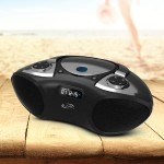 Bluetooth CD Radio Portable Boombox