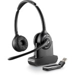 Plantronics Savi W420 - 400 Series - headset - full size - wireless - DECT 6.0 84008-03