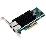 Intel Ethernet Converged Network Adapter X540-T2 - Network adapter - PCI Express 2.1 x8 low profile - 10Gb Ethernet x 2 X540T2BLK