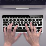 Bluetooth Easy-Switch Keyboard for Mac, iPad and iPhone