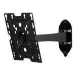 "SmartMount SP724P - Wall mount for LCD display - matte, black powder coat - screen size: 22""-37"""