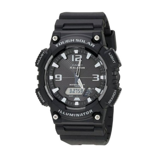 Casio ANA DIGI SOLAR WATCH BLACK