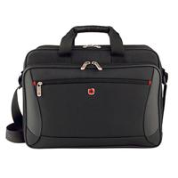 "Victorinox Swiss Army Mainframe 16"" Double-Compartment Slimcase with Tablet / eReader Pocket 64038010"
