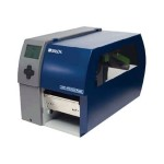 Printer PR Plus - Label printer - DT/TT - Roll (4.7 in) - 300 dpi - up to 590.6 inch/min - USB, LAN, serial - rewinder