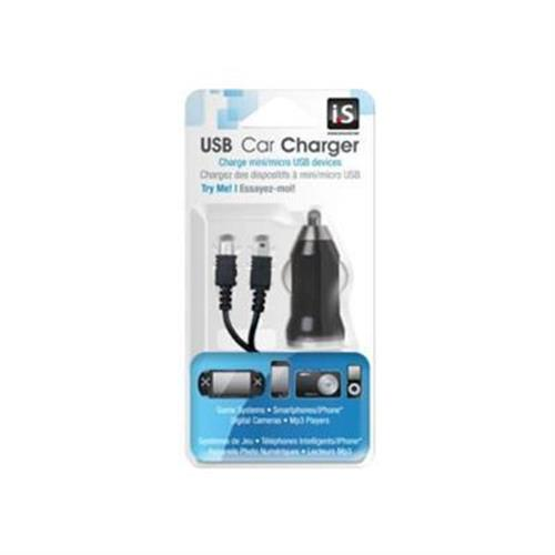 dreamGEAR i.SOUND USB Car Charger - power adapter - car