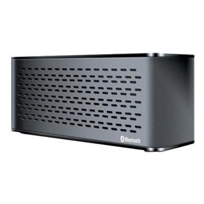 dreamGEAR Sonic Waves Rechargeable Portable Bluetooth Speaker and Speakerphone - Black (ISOUND-5302)