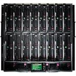 BLc7000 Platinum Enclosure with 1 Phase 6 Power Supplies 10 Fans ROHS 16 Insight Control Licenses