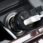 Mini Dual USB Car Charger - Charge 2 iPhones and/or iPads at once