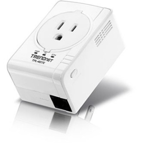 TRENDnet POWERLINE 500 AV NANO ADPT BUILT OUTLET