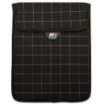 "NeoGrid Sleeve for 7"" Tablets/E-Readers -  Black with Pink Stitching"