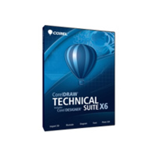 Corel CORELDRAW TECHNICAL STE X6 UPG(DVD CASE