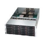 Supermicro SC848 A-R1K62B - Rack-mountable - 4U - SATA/SAS - hot-swap 1620 Watt - black