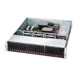 Supermicro SC216 E16-R920LPB - Rack-mountable - 2U - extended ATX - SATA/SAS - hot-swap 920 Watt - black