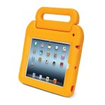 Kensington SafeGrip Security Case & Lock - Protective case for tablet - sunshine - for Apple iPad (3rd generation); iPad 2 K67794AM