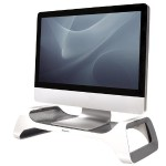 I-Spire Series Monitor Lift - Monitor stand - gray, white