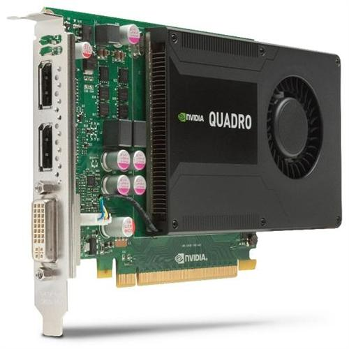 HP NVIDIA Quadro K2000 2GB DL-DVI+2xDP Graphics Card
