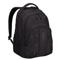 "Victorinox Swiss Army Upload 16"" Computer Backpack with iPad/Tablet Pocket and Air-Flow Back Padding - Black 64081001"