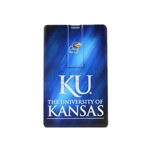 US Digital Media Flashscot iCard University of Kansas - USB flash drive - 8 GB