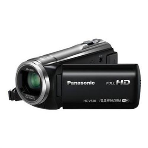 Panasonic V520: Mobile Live Streaming Long Zoom HD Video Camcorder
