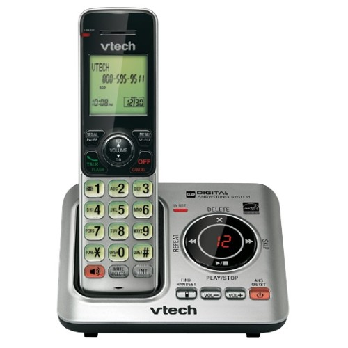 Vtech Communications CS6629 - cordless phone - answering system with caller ID/call waiting