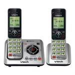 Answering System with 2 Cordless Handsets
