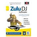 NCH Software Zulu Dj Mix Loop Beat Match Crom Automate Software for Windows / Mac RET-ZDJ001