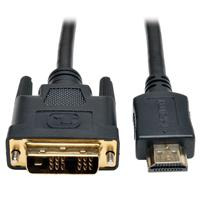 TrippLite HDMI to DVI Cable, Digital Monitor Adapter Cable (HDMI to DVI-D M/M), 6-ft. P566-006