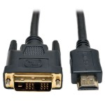 HDMI to DVI Cable, Digital Monitor Adapter Cable (HDMI to DVI-D M/M), 10-ft.