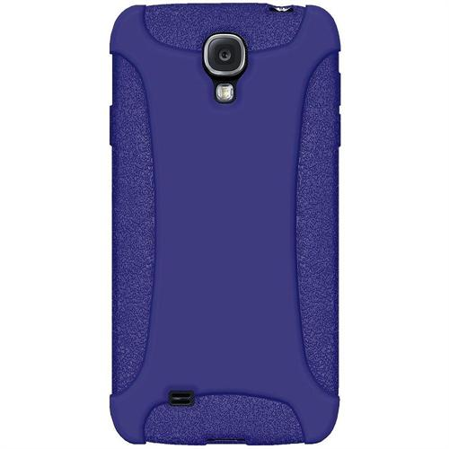 Amzer Silicone Skin Jelly Case - Blue For Samsung GALAXY S4 GT-I9500