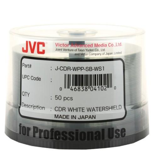 Microboards JCDR-WPP-SB-WS Inkjet Watershield CD-R - White