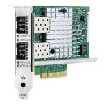 Hewlett Packard Enterprise 560SFP+ - Network adapter - PCI Express 2.0 x8 - 10Gb Ethernet x 2 - for ProLiant DL360p Gen8, DL560 Gen9, ML110 Gen9, ML350p Gen8, XL170r... 665249-B21