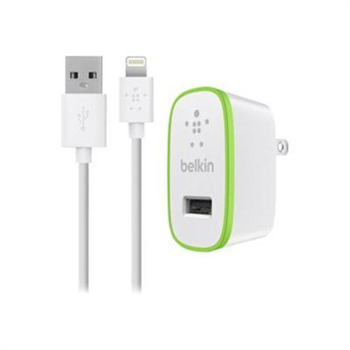 Belkin Home Charger with Lightning Cable for iPad (10 Watt/2.1 Amp) - White