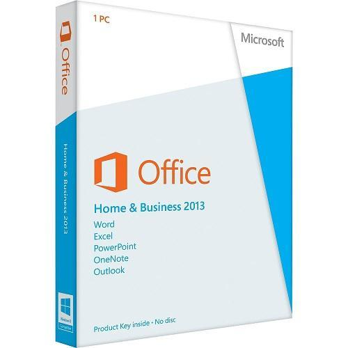Lenovo MS Office Home & Business 2013 - Permanent License for 1 PC