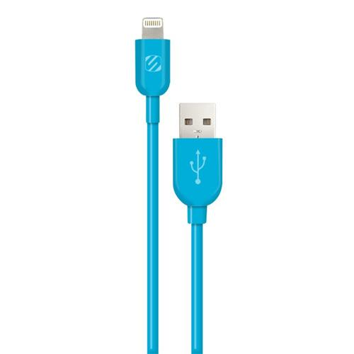 Scosche Apple Lightning to USB Cable - Blue