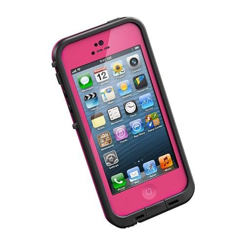 LifeProof fre Case for iPhone 5 - Magenta / Black