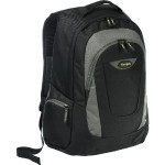 "16"" Trek Laptop Backpack - Black/Gray"