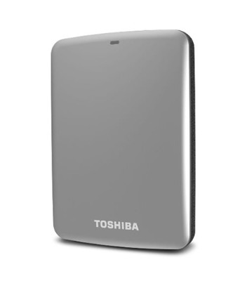 Toshiba Canvio Connect - hard drive - 1 TB - USB 3.0 (HDTC710XS3A1)