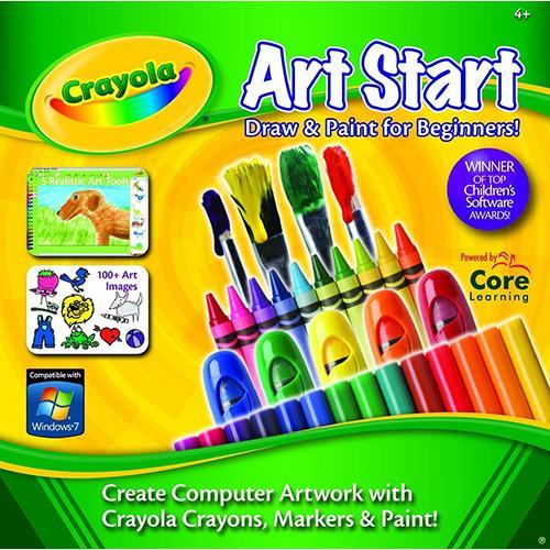 Core Learning Crayola Art Start for kids