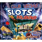 SelectSoft Publishing Club Vegas 10,000 Slots Volume 1 LGCV10MS1J-ESD