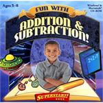 SelectSoft Publishing Fun With Addition & Subtraction LPFUNADSUJ-ESD
