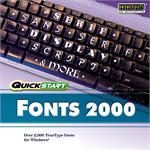 Quickstart: Fonts 2000