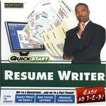 SelectSoft Publishing Quickstart: Resume Writer LQRESWRITJ-ESD