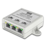 3-Port Gigabit Ethernet Switch - Switch - 3 x 10/100/1000 - desktop