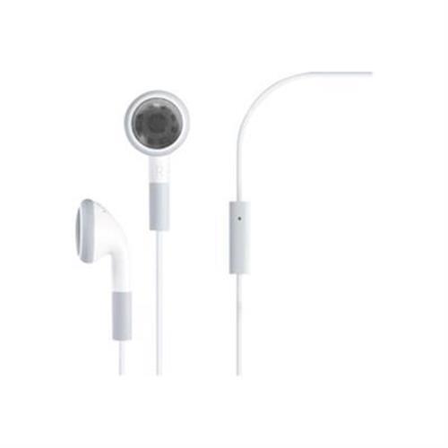 4XEM Premium Earphones - Headset - ear-bud - wired - noise isolating -  white - for Apple iPad 1