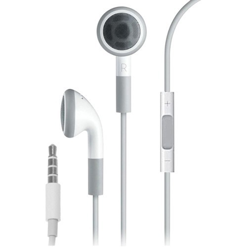 4XEM Apple Original Earphones with Remote and Mic - headset
