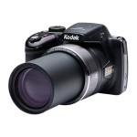 Kodak PIXPRO Astro Zoom AZ521 - Digital camera - compact - 16.38 MP - 1080p - 52 x optical zoom - black AZ521-BK
