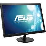 "ASUS VS24AH-P - LED monitor - 24"" - 1920 x 1200 Full HD - IPS - 300 cd/m² - 5 ms - HDMI, DVI-D, VGA - black VS24AH-P"